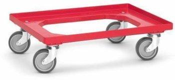 Transportroller mit Gummiräder für Eurokisten -...