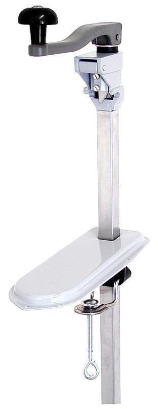 Dosenöffner mit Tischauflage 25 x 10,5 x 1,5 cm