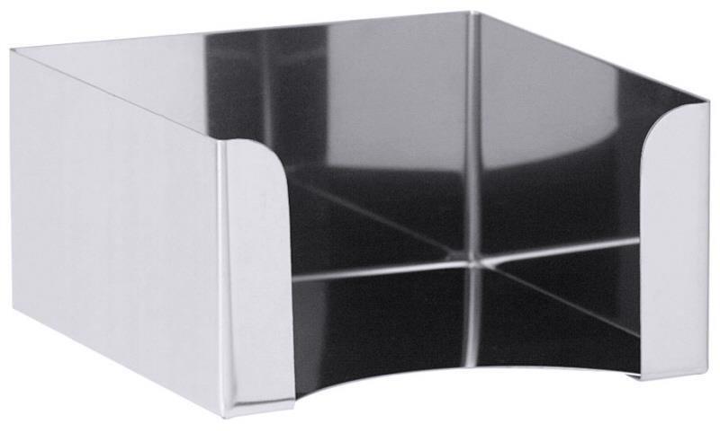 Serviettenhalter für Cocktailservietten 25 x 25 cm (1/4 Falz)