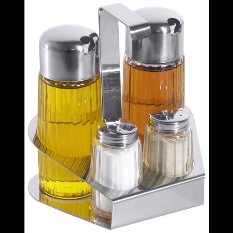 Menage Öl/Essig, Salz/Pfeffer