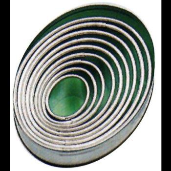 Ausstechformen, oval