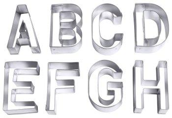 Ausstecher Buchstaben, groß