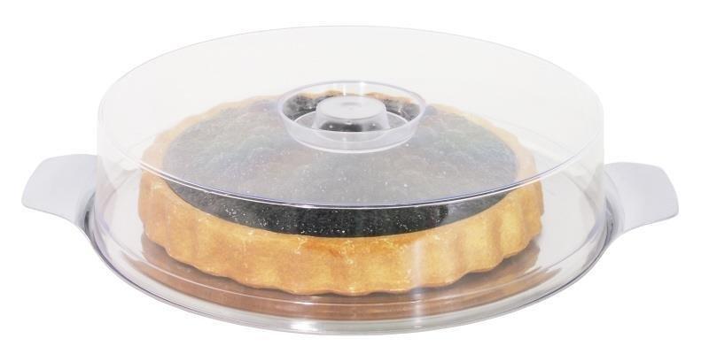 Kuchenplatte mit Haube