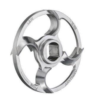 Sichel - Ringmesser, 4 Flügel.verzinnt, UNGER, Typ HKO