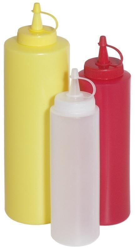 Quetschflasche , rot
