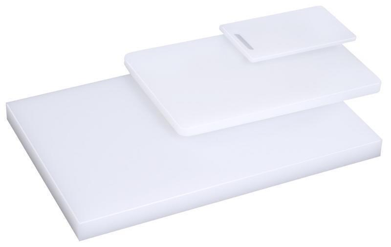 Schneidbrett mit FĂĽĂźchen und ohne Griffloch, 50 x 34 x 2 cm