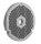 Lochscheibe ENTERPRISE Typ 32 -glatt- aus INOX