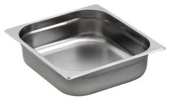 GN 2//3 Gastronormbehälter GN-Behälter Edelstahl  12,5 Liter tief 200mm Gastronor