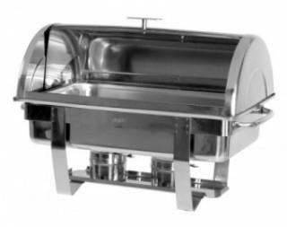 Chafing-Dish mit Rolltopdeckel, Modell Dennis