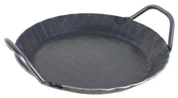Brat- und Servier- Eisenpfanne