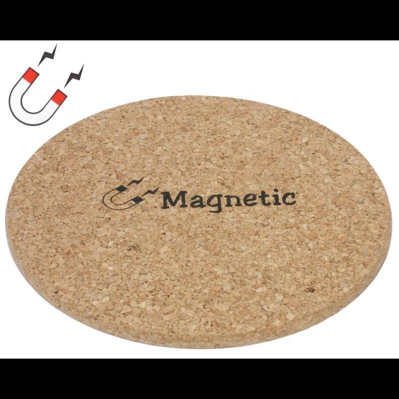 Korkuntersetzer mit Magnet