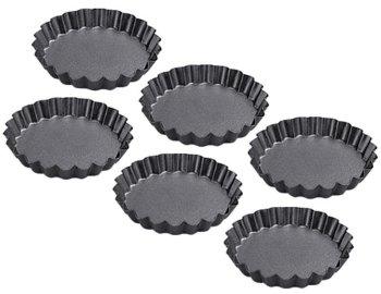 Antihaft-Tortelettform Set mit 6 Förmchen