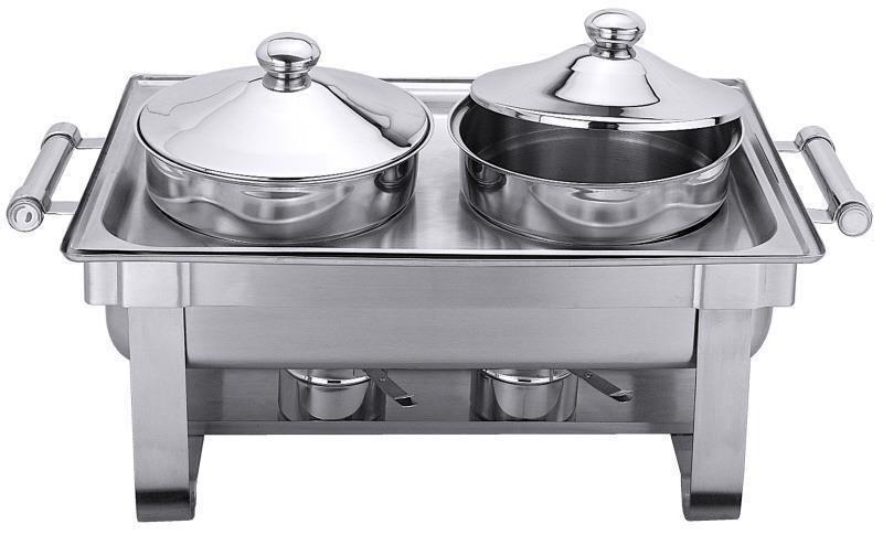 Suppenstation GN 1/1 zusätzlich mit elektrischer Heizquelle (Art.7099/001)