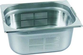 Gastronorm-Behälter 1/1 gelocht mit Fallgriffen