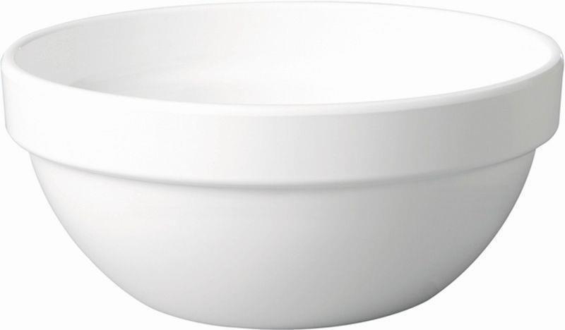 Schale -CASUAL MAXI- 0,5 Liter weiß