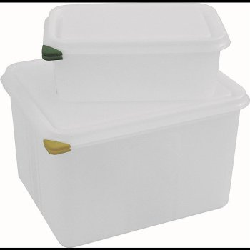 Gastronorm 1/2 PP-Kunststoffbehälter mit PE Deckel