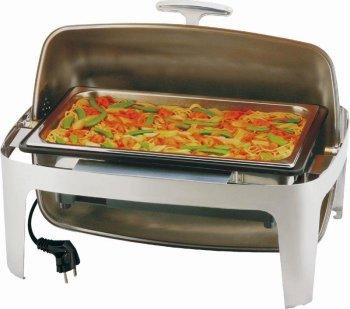 Elektro-Rolltop-Chafing Dish -Elite- rechteckig