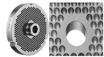 Lochscheibe ENTERPRISE Typ 32 - glatt ODER mit Nabe- aus Werkzeugstahl