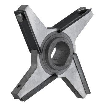 Schraubklingenmesser INOX 4 Flügel, UNGER, Typ D