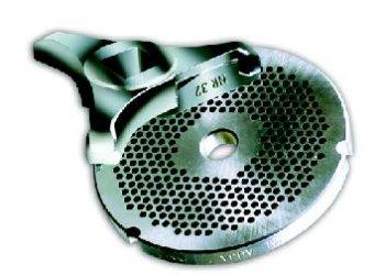 Auja-Lochscheibe ENTERPRISE Typ H 82 aus INOX - 3 mm