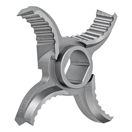 Lumbeck & Wolter X4 Premium-Kreuzmesser 4 Flügel, UNGER, Typ U
