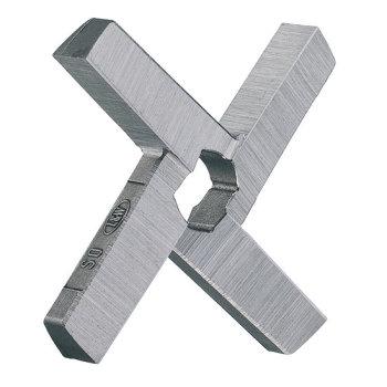 Kreuzmesser doppelt 4 Flügel, Typ Velati 180