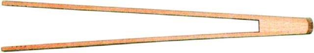 Grill- / Gurkenzange Länge 30 cm -- Breite 2 cm