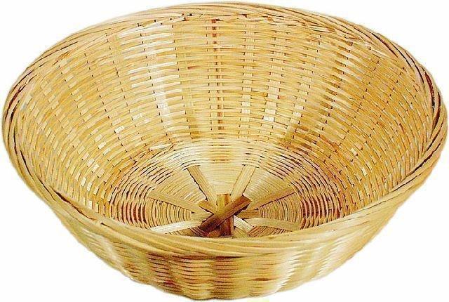 Bambus-Brotkorb Ř 22,5 cm - Höhe 7 cm