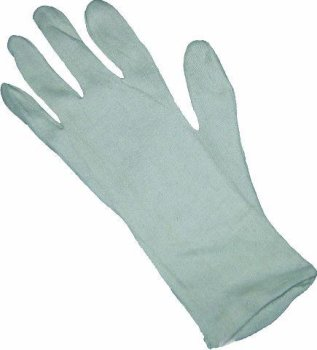 Unterziehhandschuhe aus Baumwolle 32cm