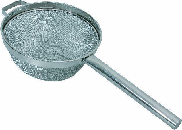 Großküchensieb mit Hohlgriff Ř 23 cm -- Grifflänge 25 cm