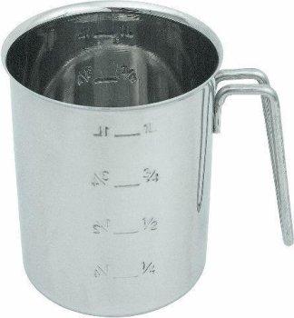 Maß Chrom-Nickel-Stahl