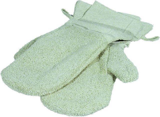 Hitze-Handschuhe, beige, 40cm