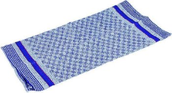 Grubentuch , blau/grau kariert,ca 100x50cm