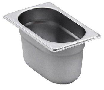 GN-Behälter 1/9 -100 mm (1 Liter)