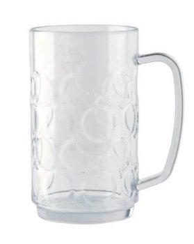 Bierseidel 0,5 Liter aus Kunststoff