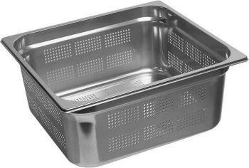 Gastronormbehälter 2/3 gelocht Tiefe 20mm / Inhalt...