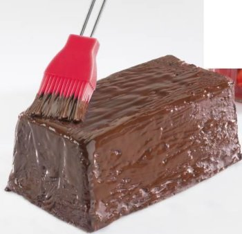 Bastin-, pastry- and barbecue-brush Silicone