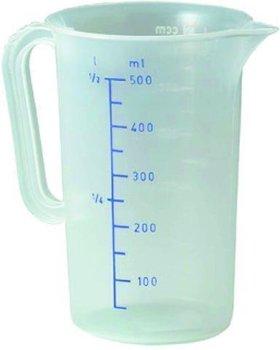 Messbecher,PP-Transparent, Inhalt 3,0 Liter -- Ø...