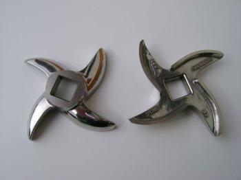 Sichelmesser 4 flgl. ENTERPRISE, Typ 22, INOX PREISBRECHER