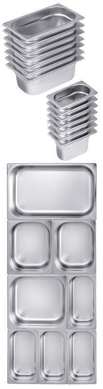 GN-Behälter 1/1 40 mm -- 5,0 l