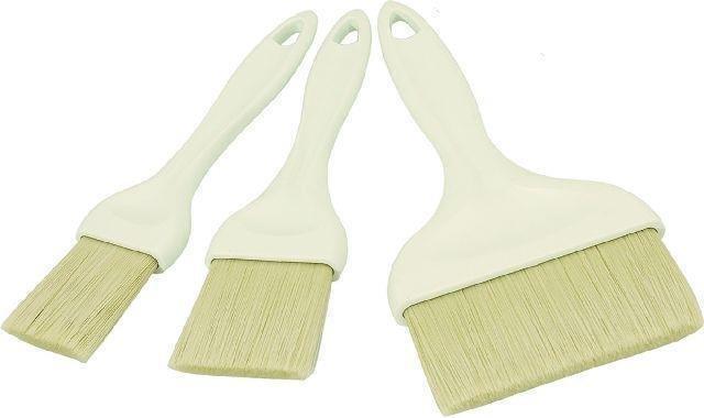 Backpinsel mit ABS Griff Breite 4,0 cm -- Länge 20,5 cm, Epoxydhardborsten