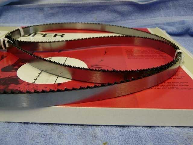 BIZERBA-Bandsägebänder 1670 mm x 15 mm für Typ FK22