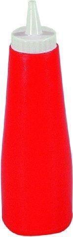 Ketchup- Senf-Flasche Kunststoff Farbe Senf orange -- Höhe 22 cm -- Inhalt 0,45 Liter