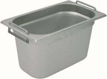 Gastronormbehälter 1/4 mit Fallgriffen Tiefe 150mm /...