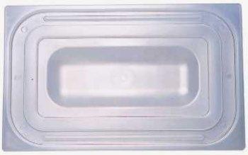 GN-Deckel 1/1 aus Polypropylen für Fallgriffe