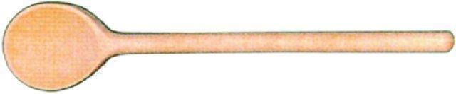 Kochlöffel - rund - Länge 30 cm -- Löffel-Ř 4,9 cm -- Stiel-Ř 1,0 cm