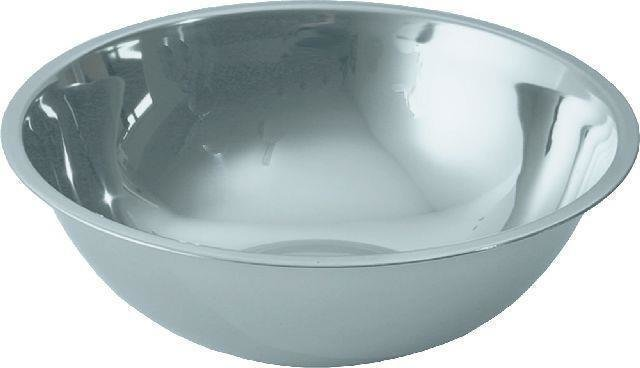 Küchenschüssel, CNS, Ř 20 cm -- Höhe 6,5 cm -- Inhalt 1,0 Liter