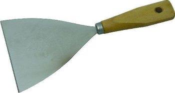 Spachtel mit Holzgriff Klingenbreite 10,0 cm