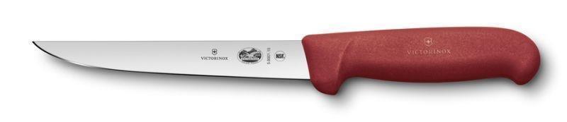 Victorinox HACCP Ausbeinmesser, gerade breite Klinge Rot