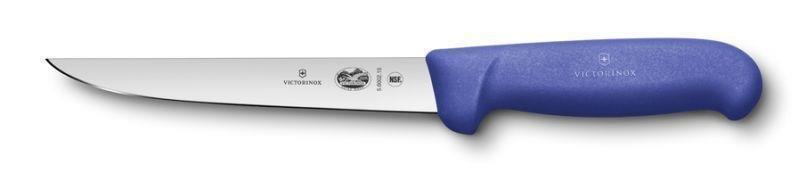 Victorinox HACCP Ausbeinmesser, gerade breite Klinge Blau